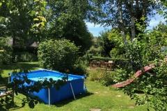 Een zwembad voor warme dagen